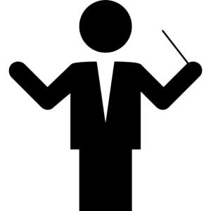 dirigent icoon